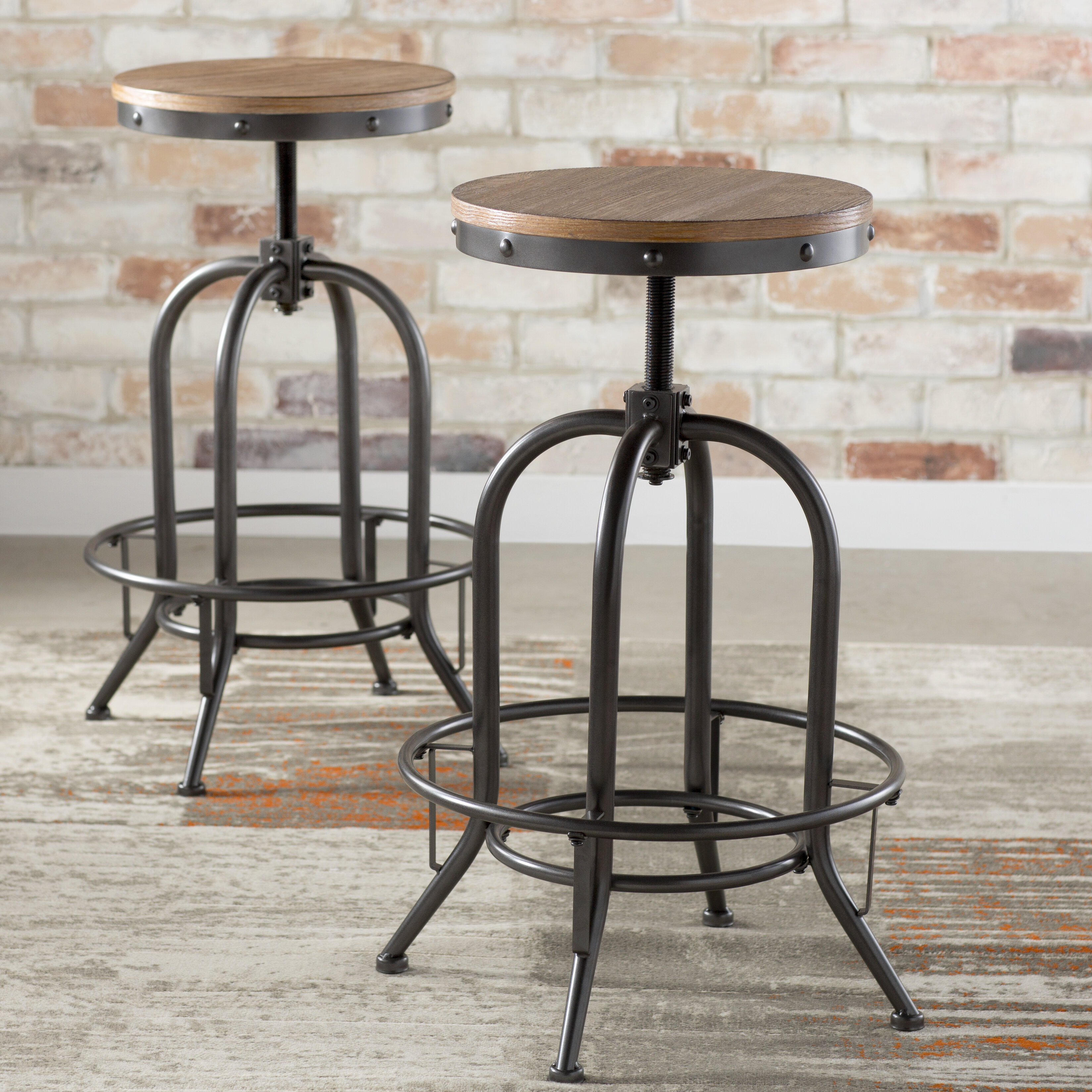 wayfair used stools reviews stool three furniture sale for goldenberg bar posts swivel pdx