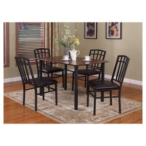 Troiano Gold Coast 5 Piece Dining Set by Latitud..