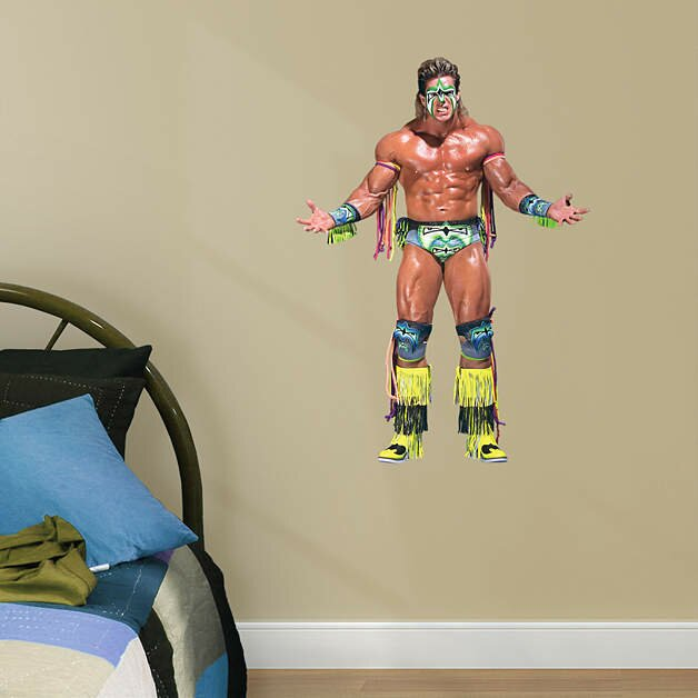 WWE Ultimate Warrior Peel And Stick Wall Decal