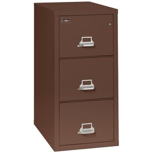 Fireproof 3-Drawer 2-Hour Rated Vertical File Cabinet