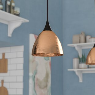 Latitude Run Cavan Cord 1-Light Cone Pendant