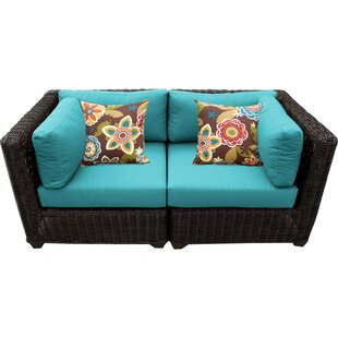 Fairfield Patio Loveseat with Cushions