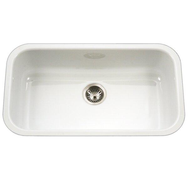 White Porcelain Kitchen Sink | Wayfair