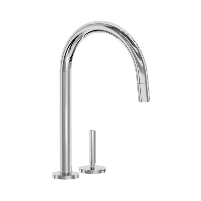 One Pull Down Touch Single Handle Kitchen Faucet