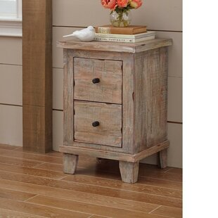 Hirschman Wooden 2 Drawer Accent Chest by August Grove