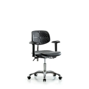 Review Kinsley Desk Height Ergonomic Office Chair by Symple Stuff