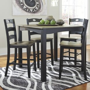 Fager 5 Piece Pub Table Set by Darby Home Co