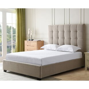 Bedsworth Upholstered Panel Bed by Canora Grey Coupon