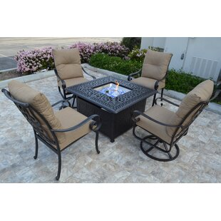 Florence 5 Piece Conversation Set with Cushions