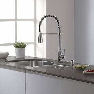 Kraus Single Handle Pull Down Kitchen Faucet