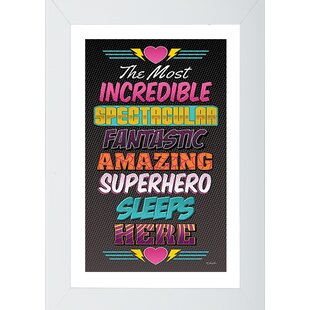 Superhero 1 Framed Wall Art