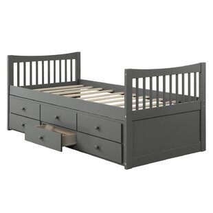 Persaud Twin Bed with 3 Drawers by Harriet Bee