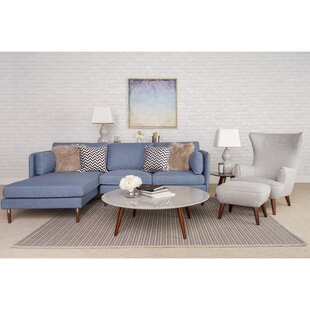 Inexpensive Shelburne 5 Piece Living Room Set by Corrigan Studio Reviews (2019) & Buyer's Guide