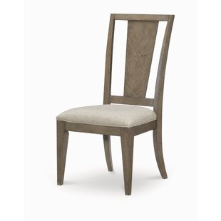 Ophelia & Co. Whicker Upholstered Dining Chair (Set of 2)