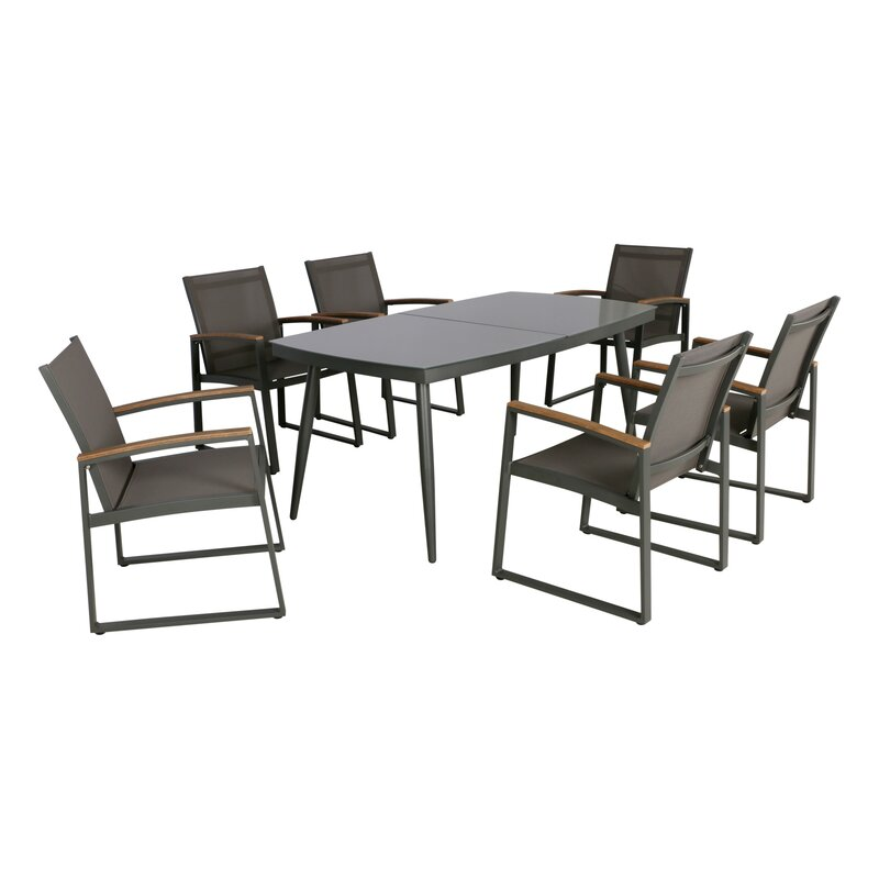 Outstanding Framingham 7 Piece Dining Set Caraccident5 Cool Chair Designs And Ideas Caraccident5Info