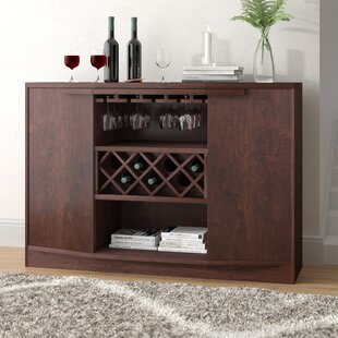Wade Logan Xanthene Bar with Wine Storage