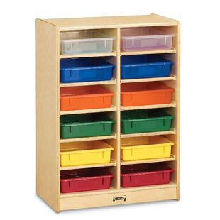 Order Paper-Tray 12 Compartment Cubby with Casters ByJonti-Craft
