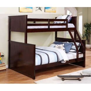 Top Gertrude Twin Over Full Bunk Bed by Harriet Bee Reviews (2019) & Buyer's Guide