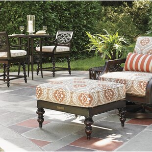 Sands Outdoor Ottoman with Cushion by Tommy Bahama Outdoor
