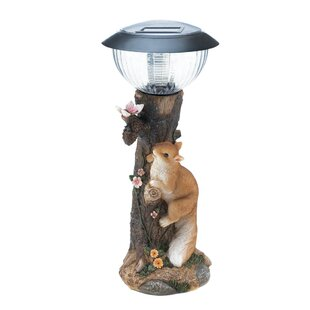 Zingz & Thingz Squirrel Solar 1 LED Pathway Light