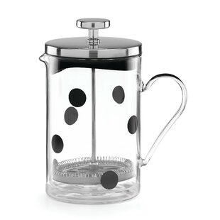 All in Good Taste Deco Dot Glass French Press