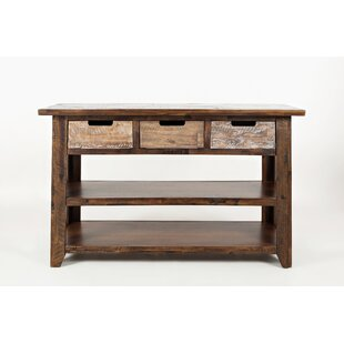 Millwood Pines Brendon Wooden Console Table