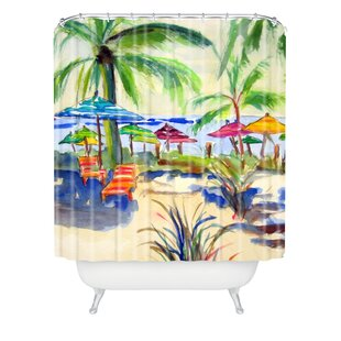 Caribbean Time by Laura Trevey Single Shower Curtain