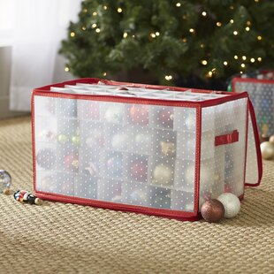 Christmas Ornament Storage You Ll Love In 2019 Wayfair