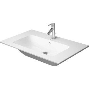 Great Price Ceramic Rectangular Vessel Bathroom Sink with Overflow By Duravit