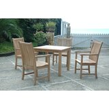Bahama Chicago 5 Piece Teak Dining Set