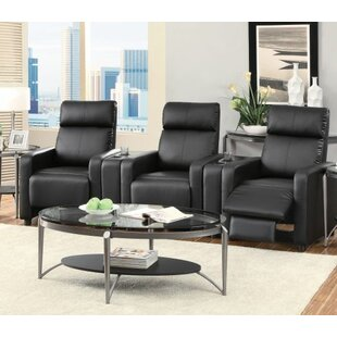 Latitude Run Schaller Home Theater Sofa
