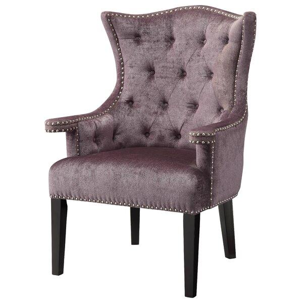Nailhead Trim Wingback Chair | Wayfair