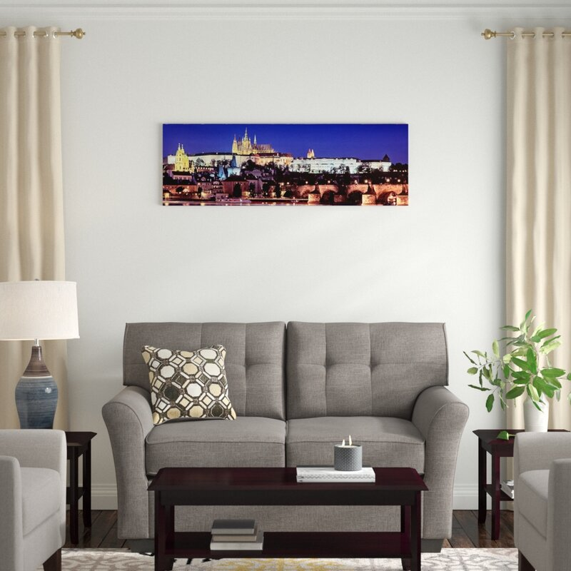Poster Hradcany Art//Canvas Print Wall Art Home Decor