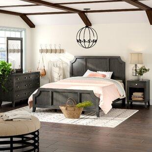 Gracie Oaks Calderdale Panel Configurable Bedroom Set