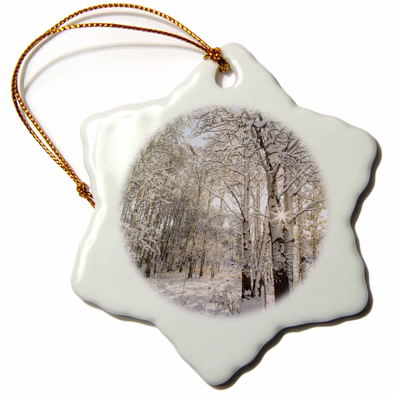 Rustic White Christmas Ornaments You Ll Love In 2021 Wayfair