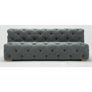 Pratt Tufted Armless Sofa