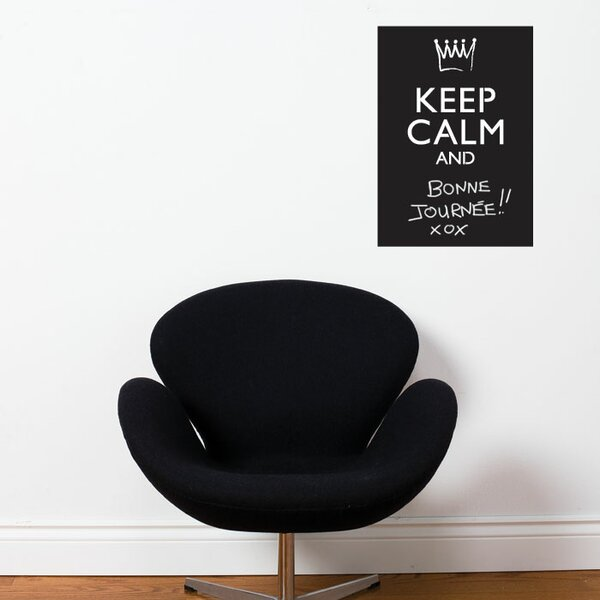 Adzif memo keep calm chalkboard wall decal wayfair
