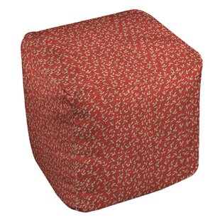 Dream Big Ditsy Florals Pouf by Manual Woodworkers & Weavers
