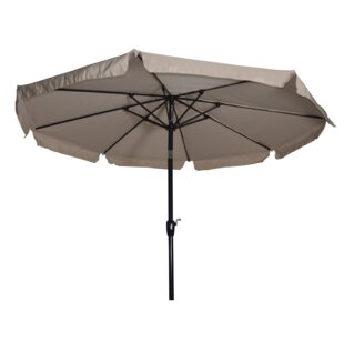 Libra 3m Beach Parasol By Lesli Living