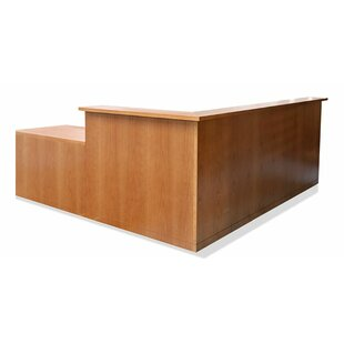 L-Shape Reception Desk by Woodtech