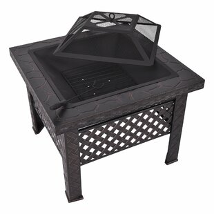 Early Steel Wood Burning Fire Pit By Sol 72 Outdoor