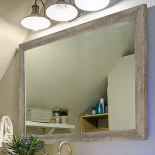 Compare Country Barnwood Wall Mirror By Second Look Mirrors