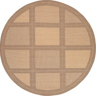 Zachary Natural/Beige Indoor/Outdoor Area Rug by Andover Mills