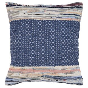 Dena Diamond Cotton Throw Pillow