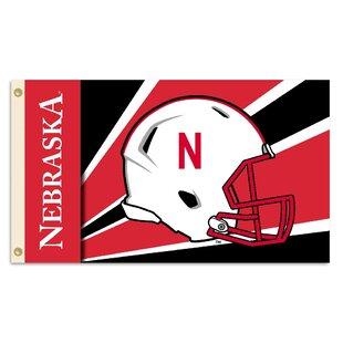 NCAA Helmet Polyester 3 x 5 ft. Flag By Team Pro-Mark