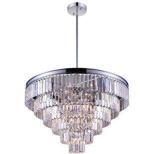 CWI Lighting Weiss 15-Light Chandelier