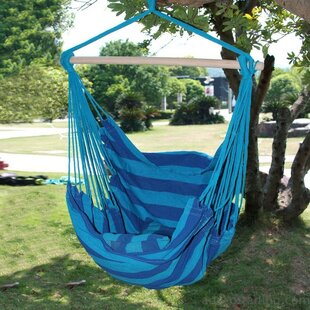 Longshore Tides Kemp Naval-Style Cotton Fabric Canvas Chair hammock