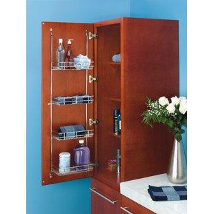 Bargain Door Mount Linen Rack By Rev-A-Shelf