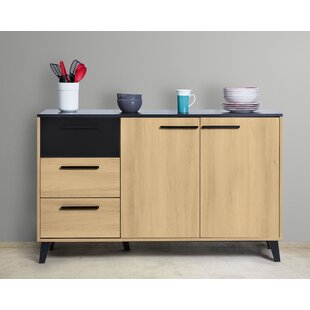 Bascombe 3 Drawer Combi Chest By Ebern Designs