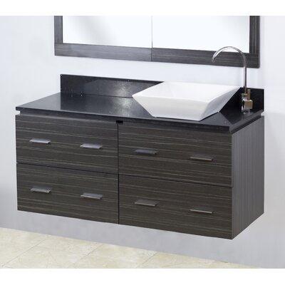 Modern Wall Mount Vanity.48 Single Modern Wall Mount Bathroom Vanity Set American